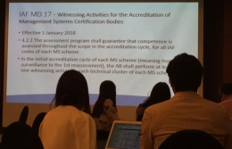 VinaCert attended Conference organized by JAS-ANZ in Korea