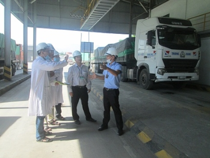 VinaCert's animal feed national technical regulation conformity certification audit on C.P Vietnam Corporation – Xuan Mai branch, Ha Noi