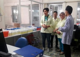 Laboratory 3 of VinaCert welcomed the Costa Rica delegation to visit