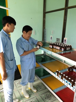 VinaCert implemented surveillance assessments under VietGAP standard at 75 livestock farms
