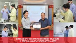 Internship position at VinaCert laboratories