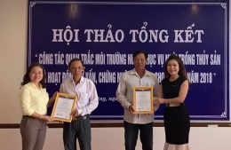 VinaCert awarded VietGAP certificates to 02 aquaculture establishments in Soc Trang